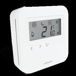 Salus HTRS230 – Termostat neprogramabil, cu butoane tactile