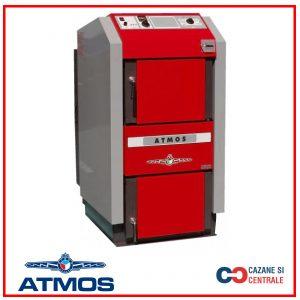 Cazan pe Lemne cu gazeificare Atmos DC25S – 25 kW +TRANSPORT GRATUIT