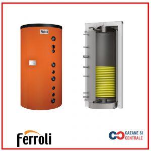 Boiler cu o serpentina Ferroli ECOUNIT WB 150-1C 150 Litri