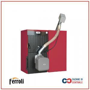 Cazan din fonta pe peleti Ferroli SunPellet 3 22Kw