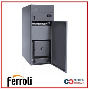 Centrala termica pe peleti Ferroli BioPellet Tech 21S – 21 kW