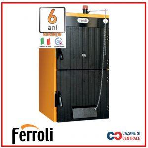 Cazan fonta FERROLI pe lemne SFL 3 – 19 KW