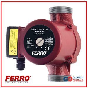 Pompa de recirculare FERRO 25-40/180