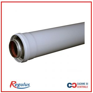 Prelungitor coaxial D60/100 L=500mm pentru centrale clasice