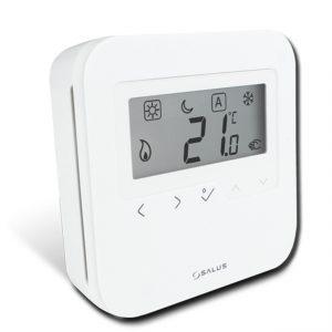 Termostat Salus HTRS230, neprogramabil, cu butoane tactile