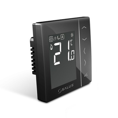 Termostat Programabil in doza Salus VS30B (Negru)
