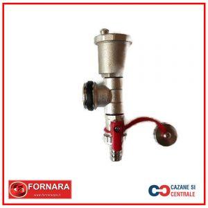 Element capat distribuitor cu robinet golire si aerisitor automat