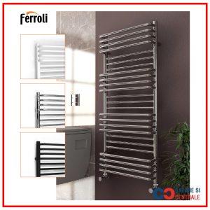 Radiator baie decorativ Ferroli Freya 500×1400