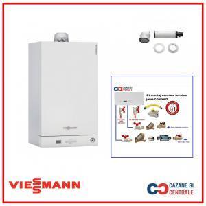 Viessmann Vitodens 050 24 kw+Kit montaj centrala termica