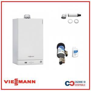 Viessmann Vitodens 050 24 KW+Filtru anti-magnetita Salus MD22A MAG Defender