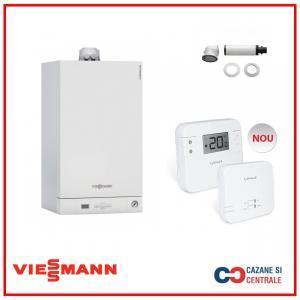 Viessmann Vitodens 050 24 kw+Termostat Salus RT310RF