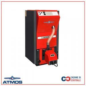 Cazan compact pe peleti Atmos D15PX – 15 kW