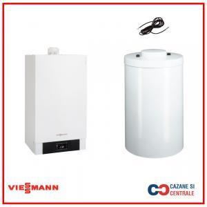 Pachet centrala termica Viessmann Vitodens 200-W 26 kw cu boiler Vitocell, monovalent, de 200 litri