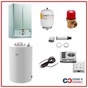 Pachet centrala termica Immergas Victrix 32 TT Plus cu boiler Atlas 120 litri