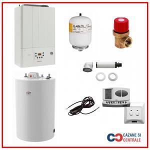 Pachet centrala termica Immergas Victrix Tera 24 Plus cu boiler Atlas 80 litri