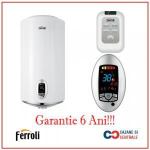 Boiler electric Ferroli TDG 100 PLUS – 100 litri – 6 ani Garantie
