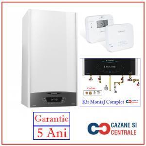 Promo Ariston Clas One 24EU cu Kit Montaj Complet si Termostat Salus RT310RF
