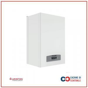 Centrala termica Ariston Clas B One 24 kW, boiler incorporat inox cu doua rezervoare stratificate de 20 litri, schimbator secundar ACM