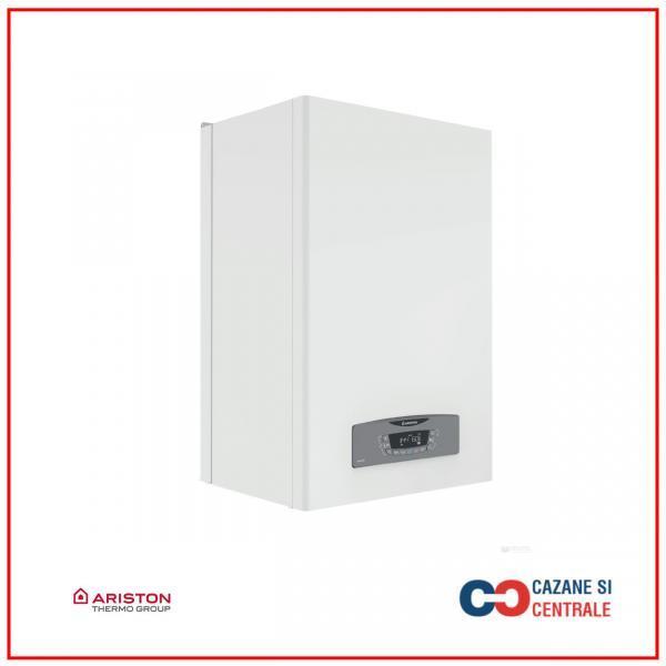 Centrala termica Ariston Clas B One 35 kW, boiler incorporat inox cu doua rezervoare stratificate de 20 litri, schimbator secundar ACM