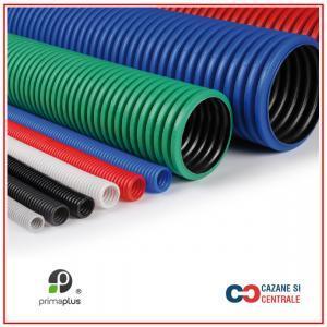 Tub flexibil pentru instalatii sanitare DN32-50M Rosu/Albastru