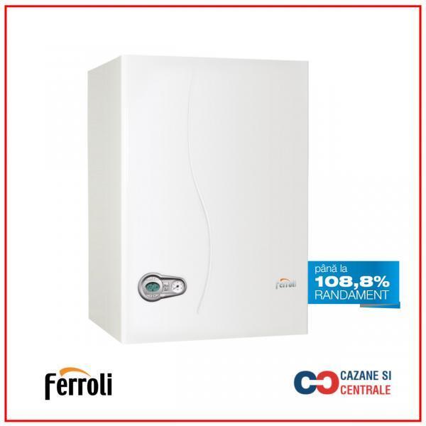 Centrala termica cu boiler incorporat Ferroli BLUEHELIX 25 A K50 – 25 kW