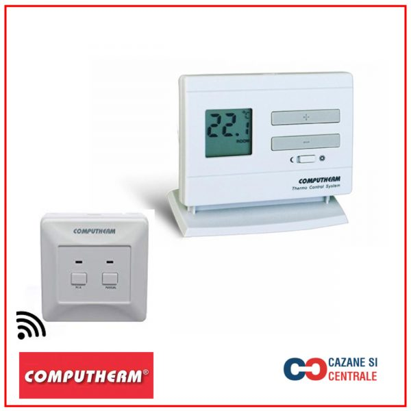 Termostat ambiental Computherm Q3 RF fara fir