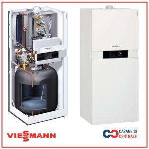 Centrala termica in condensare Viessmann Vitodens 222-F 26KW boiler 100L incorporat