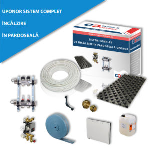 Sistem complet de incalzire Uponor