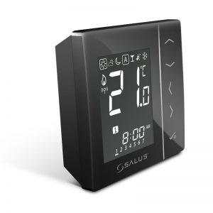 Termostat programabil Radio Frecventa Salus VS20BRF (Negru)
