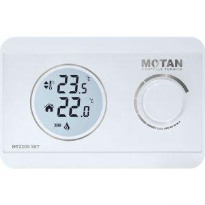 Termostat de ambient wireless neprogramabil Motan HT-220 SET