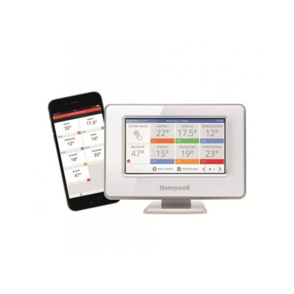 Termostat Wi-Fi multifuncțional Honeywell Evohome Touch ATP921R3052