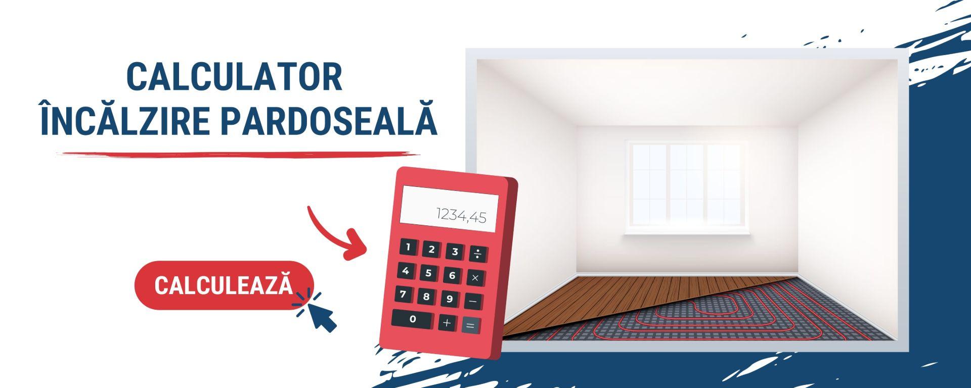Calculator Incalzire Pardoseala