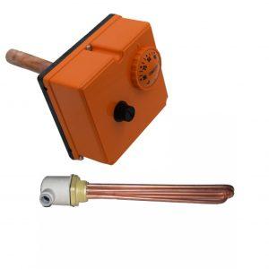 Kit rezistenta electrica+termostat 3 kW