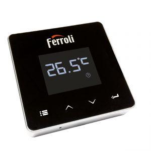 Termostat de ambient fara fir Ferroli Connect WI-FI, control prin internet, programabil