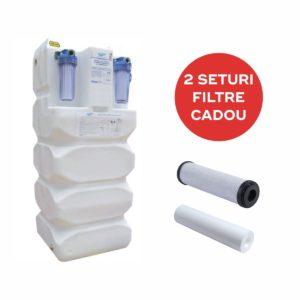 Sistem aquaPUR de filtrare, stocare si pompare a apei, FSP 500