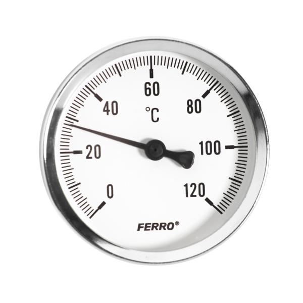 "Termometru axial Ferro 1/2"""