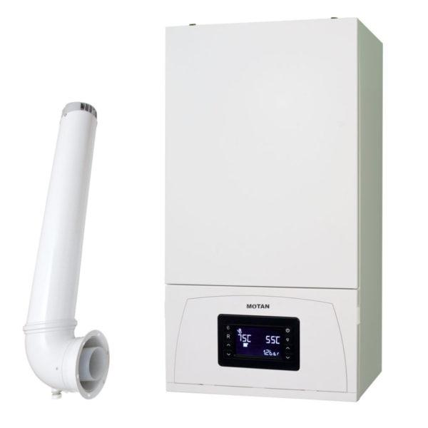 Centrala termica pe gaz, cu condensare, Motan Condens 100, 25 kW
