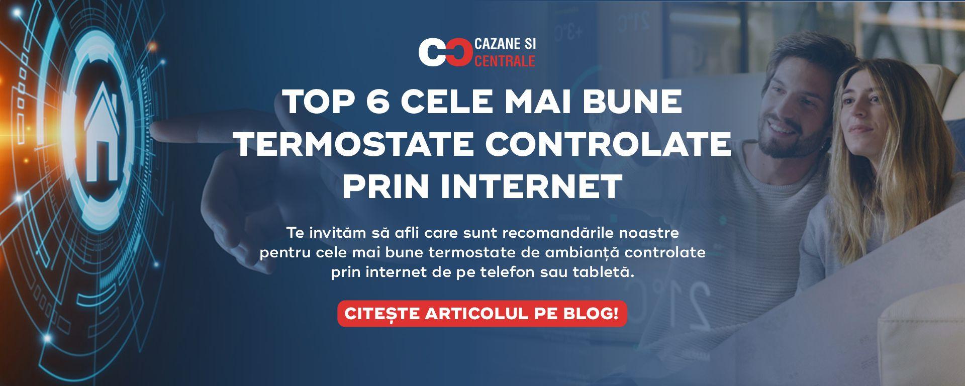Articol Top 6 cele mai bune termostate controlate prin internet