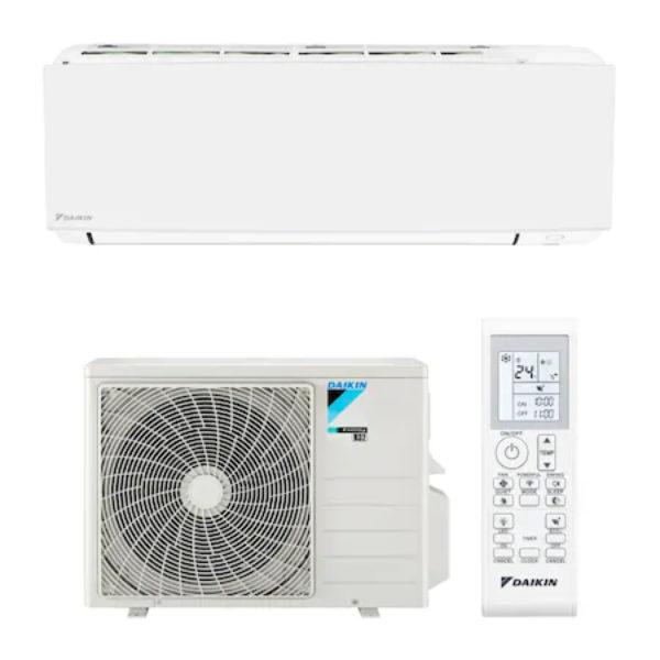 Aparat de aer conditionat Daikin Sensira Bluevolution FTXC35C/RXC35C, Inverter, 12.000 BTU, R32, autodiagnoza, dezumidificare, clasa A++, alb + interfata Wi-fi