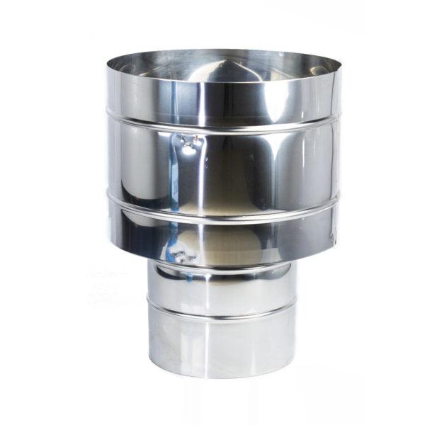 Palarie Cos de fum Inox Anti-Vant Ø300mm