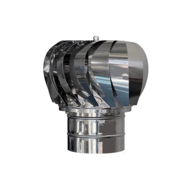 Palarie rotativa cos de fum inox - Ø250mm