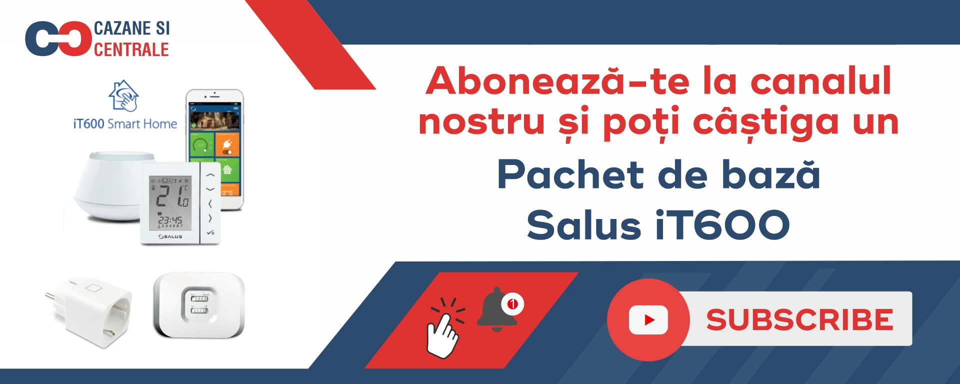 Campanie Abonare Youtube